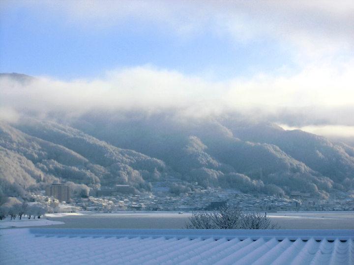 居室より-冬の景色