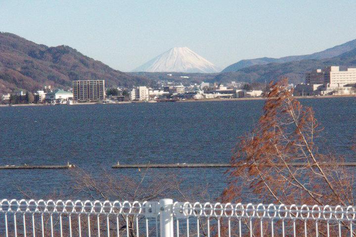 5階から見える富士山