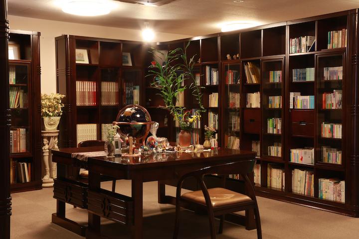 憩いの図書室