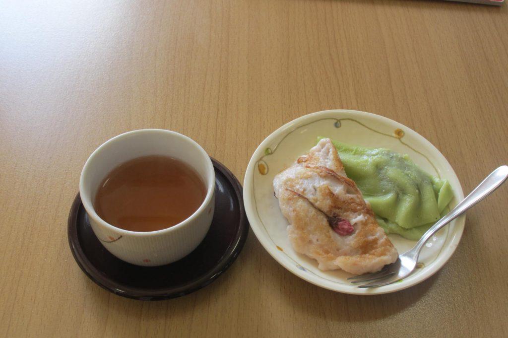29.4.13桜餅風ホットケーキ