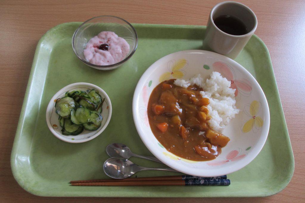 29.4.20お昼カレー