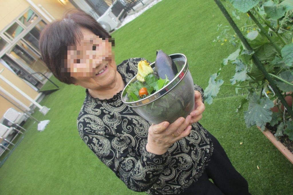 29.7.8カーサ農園収穫