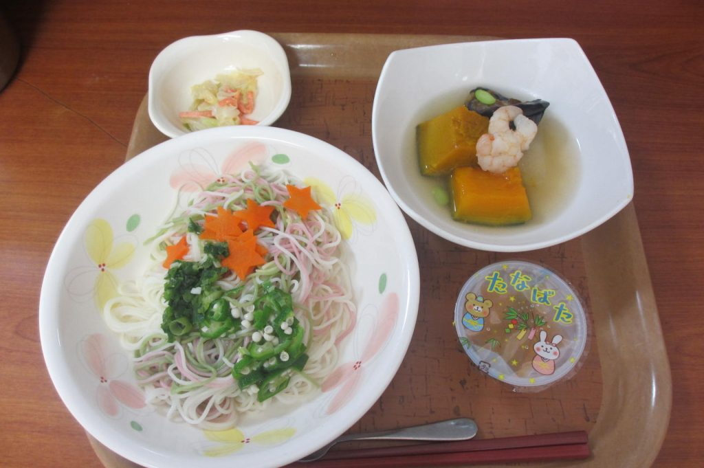 29.7.7七夕食事